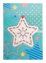 Karton karácsonyi üdvözlőlap