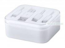 USB töltőkábel, 3 vég