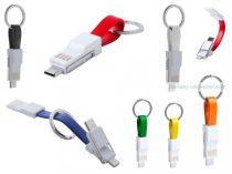 USB töltős kulcstartó