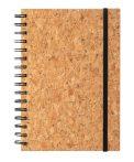 Parafa borítású spirál füzet 100 lap, vonalas