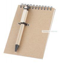 Jegyzetfüzet tollal (Emblémázható)