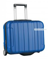 Gurulós bőrönd, 46×40×19 cm