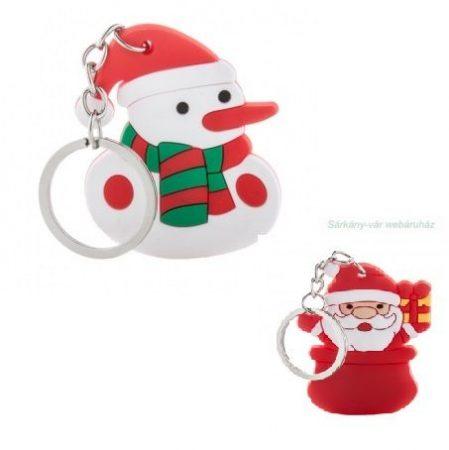 Karácsonyi kulcstartók, PVC