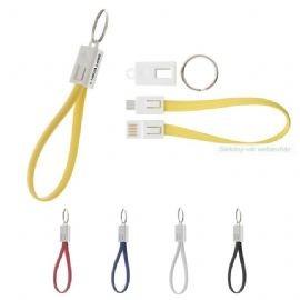 USB mobil töltő kulcstartóval