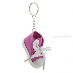 Cipő formájú kulcstartó