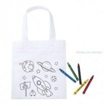 Színezhető táska gyerekeknek