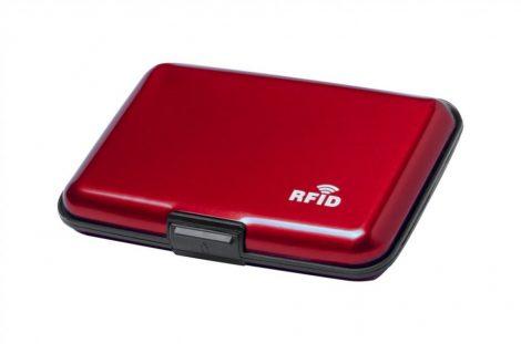 Bankártya tartó, fém, RFID
