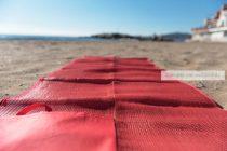 Strandszőnyeg, strand gyékény
