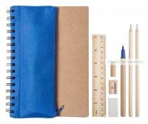Jegyzetfüzet tolltartóval (emblémázható)