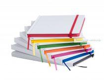 Papír borítású jegyzetfüzet 100 lappal(Emblémázható)
