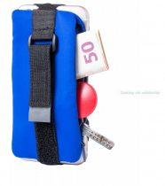 Cipzáras pénztárca mobiltelefon tartóval
