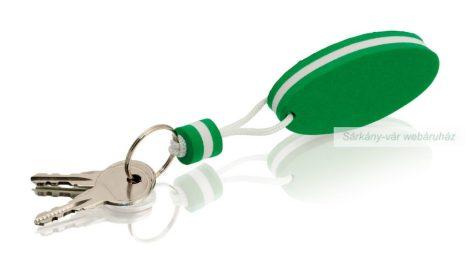Lebegő kulcstarttó, ovális