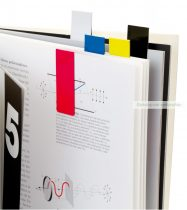 Mágneses könyvjelző, színes