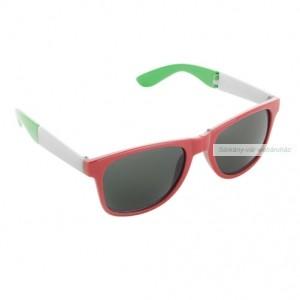 Szurkolói napszemüveg, összehjatható