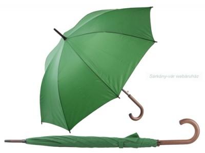 Esernyő, 8 paneles, fa fogantyúval