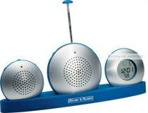 Diktafon, rádió, óra