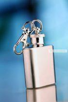 Kulcstartó flaskával
