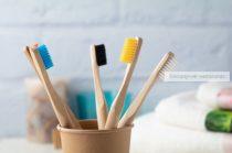 Bambusz fogkefe, felnőtt, színes fej