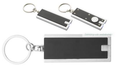 Kulcstartó ledes, 6×2.5×0.5 cm