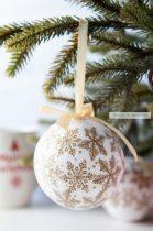 Karácsonyfa gömbdísz