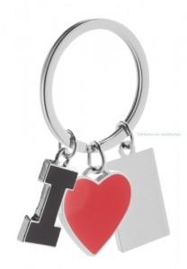 Kulcstartó, I Love
