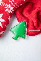 Karácsonyfa froma, melegítő tasak