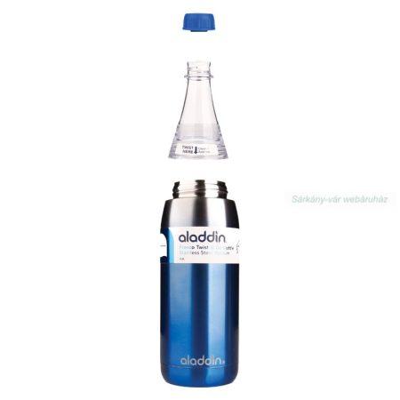 Vákuum kulacs, ivópalack, kettős kupak, 600 ml
