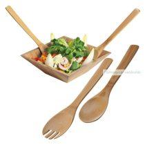 Bambusz salátás kiszedő