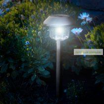 LED szolár lámpa, hidegfehér, 45 x 12,5cm