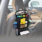 Ülésre akasztható autós tároló,  thermo betéttel