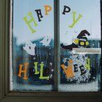 Ünnepi zselés ablakdekor