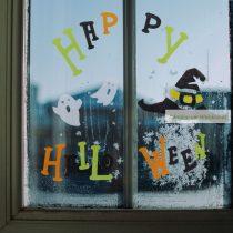 Karácsonyi zselés ablakdekor