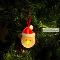 LED teamécses, fenyőfa - 2 db