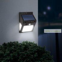 Mozgásérzékelős fali szolár reflektor, 40 LED