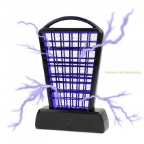 Asztali UV rovarcsapda, akkus