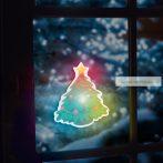 Karácsonyi LED dekor öntapadós