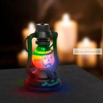 Halloween-i LED lámpa kacagás hangeffekttel, elemes