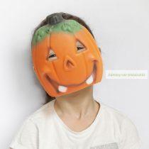 Halloween-i maszk, tök-21x19cm