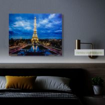 LED-es fali hangulatkép, 38x48 cm