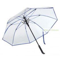 Átlátszó automata esernyő, fém tengely