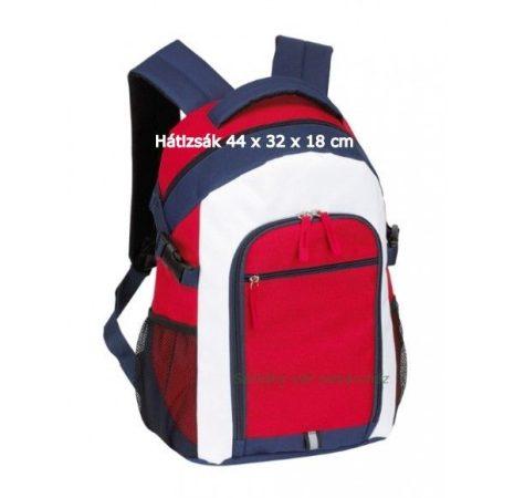 Marina hátizsák piros/kék/fehér