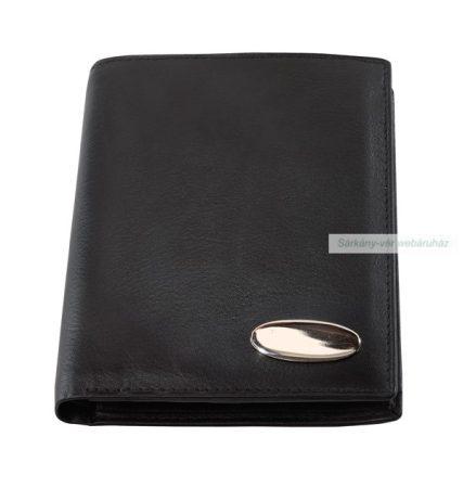Bőr pénztárca becsúsztatós zsebekkel a kártyáknak