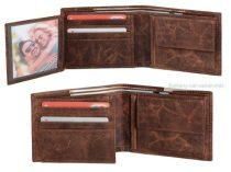 WILDERNESS Valódi bőr pénztárca