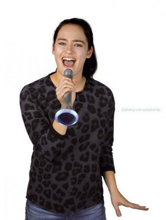Bluetooth karaoke mikrofon, ezüst