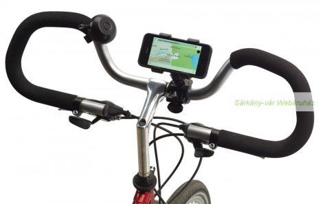Telefontartó biciklire