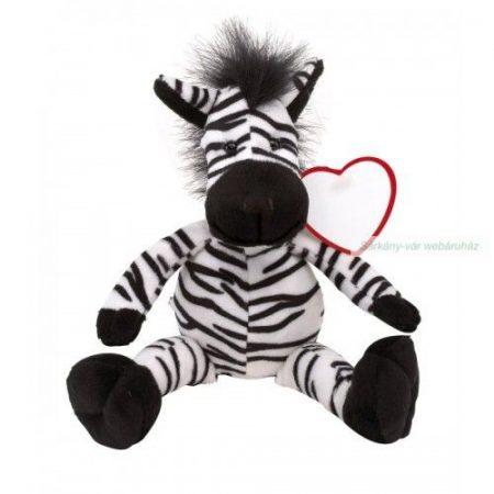 Plüss oroszlán, zebra
