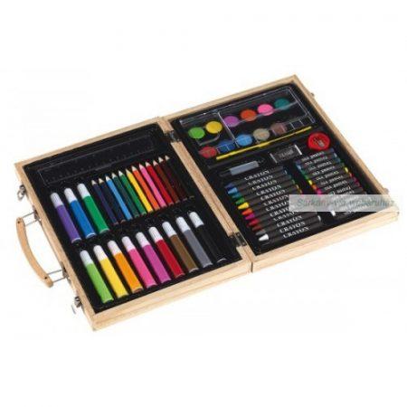 Festő, színező szett 55 db-os