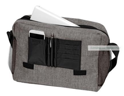 Donegal válltáska, bélelt laptop zsebbel, 38 x 11.5 x 29 cm