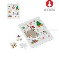 Karácsonyi puzzle, kirakó