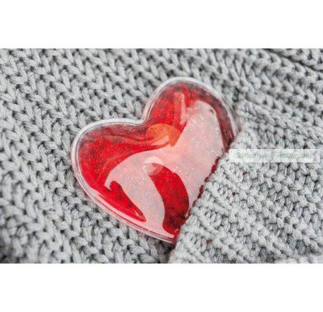 Szív alakú kézmelegítő